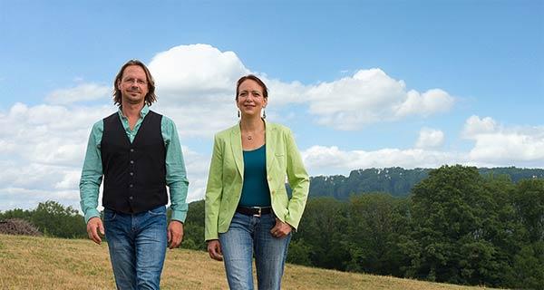 Elisabeth Gräf und Roman Kellner